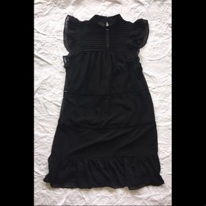 Who What Wear Black Shift Dress, size XS